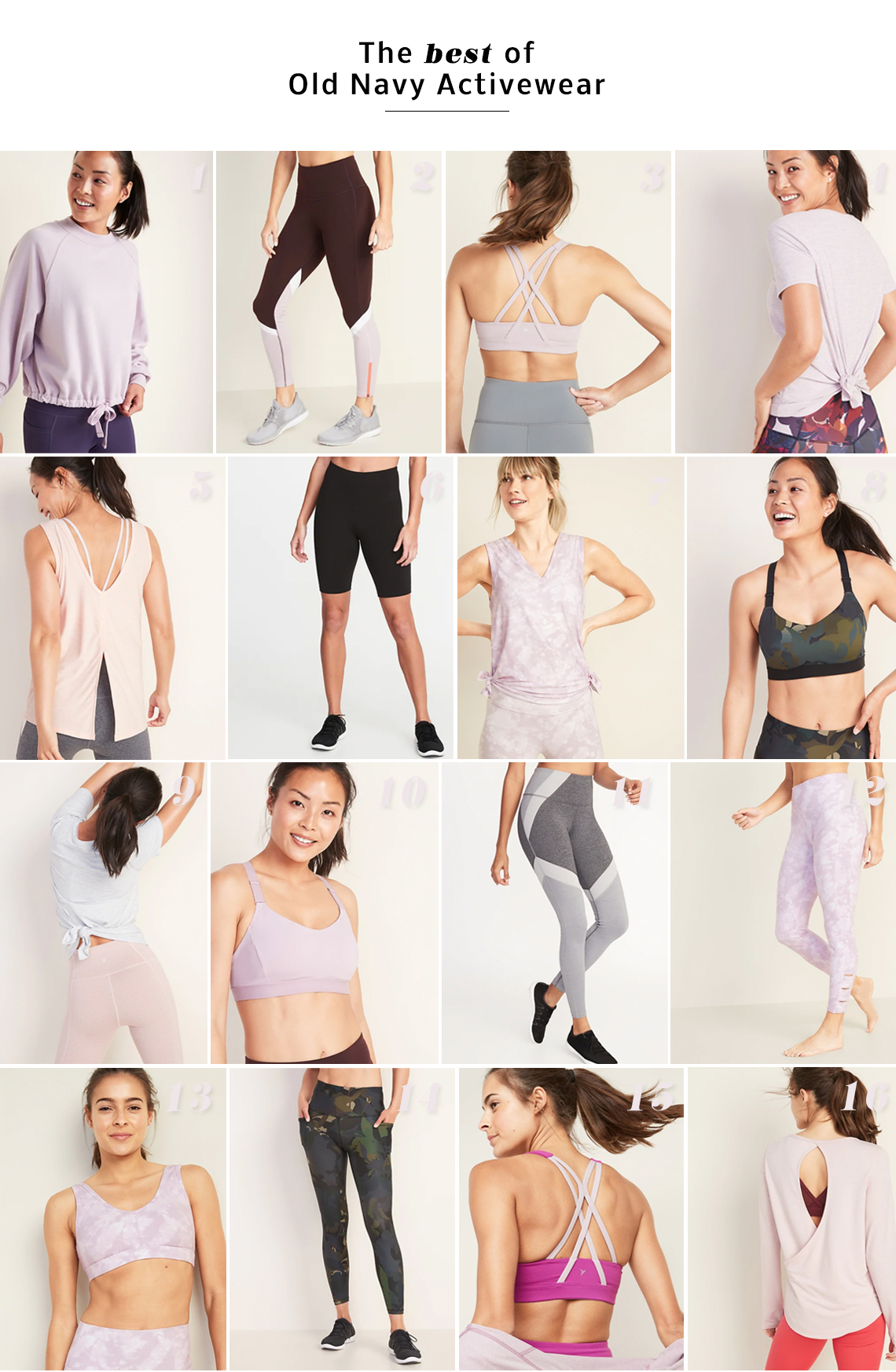 16 Affordable Activewear Pieces For Your Next Workout
